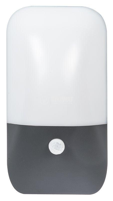 LED garden light PIRUS-FS with sensor, 10W, 220VAC, 900lm, 3000K - 3