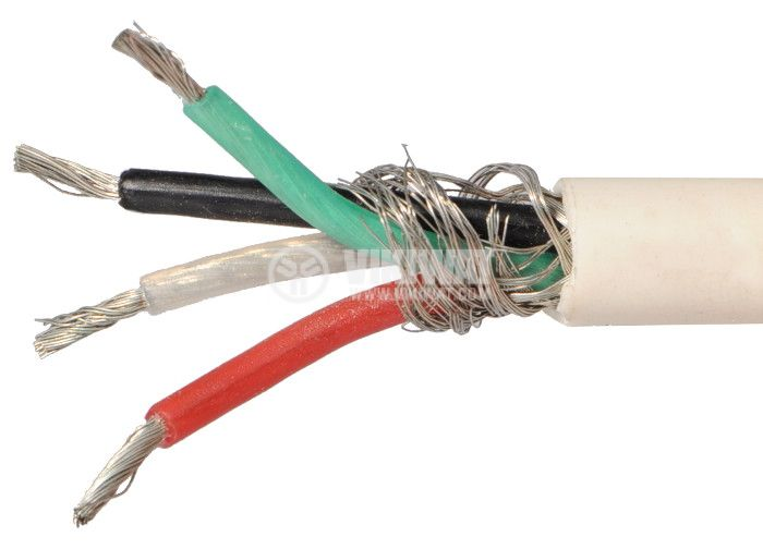ТЧП-К екраниран кабел 4x0.75mm2