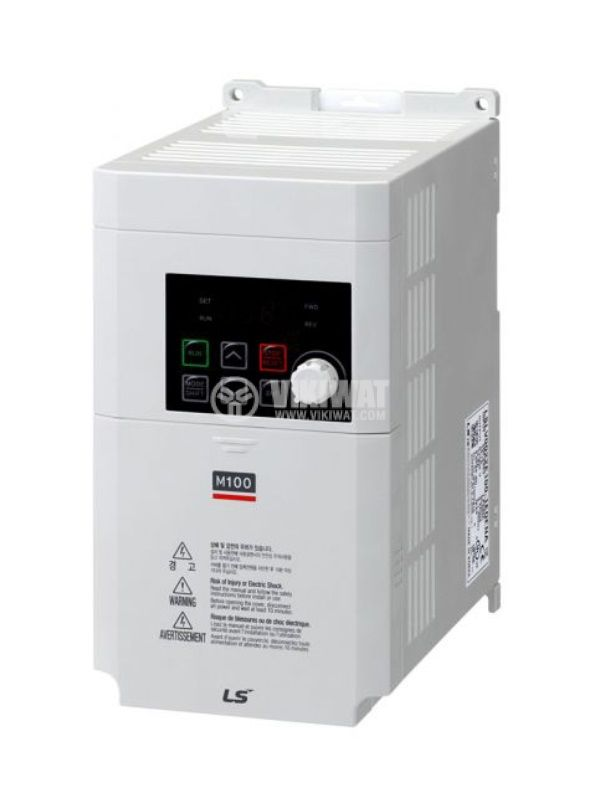 Frequency inverter LSLV0022M100-1EOFNS, 230VAC, three-phase motor control 2.2kW - 1