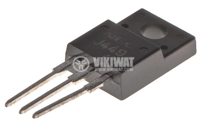 Транзистор 2SJ449, MOS-P-FET, 250V, 6A, 35W