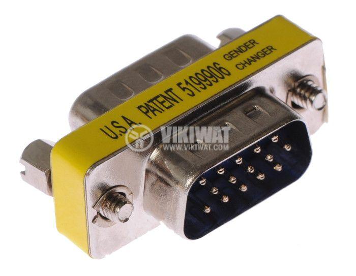 Metal Adapter, VGA М-VGA М - 2