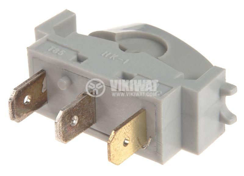 Rocker превключвател, 2 позиции, OFF-ON, 10A/250VAC, отвор 33x13mm - 3