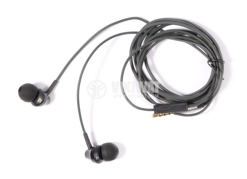 Слушалки тип тапи REMAX, 3.5mm, черни - 1