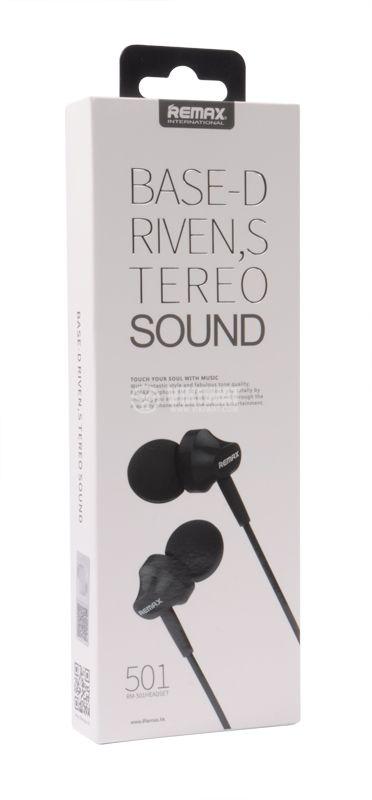 Слушалки тип тапи REMAX, 3.5mm, черни - 5