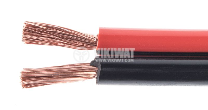 Silicone speaker cable 2x1mm2