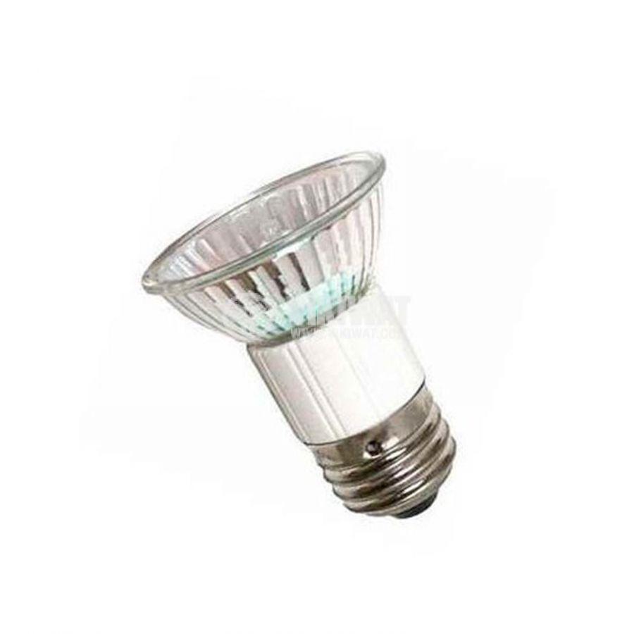 Халогенна дихроична лампа 230 VAC, 75 W, E27, закрита