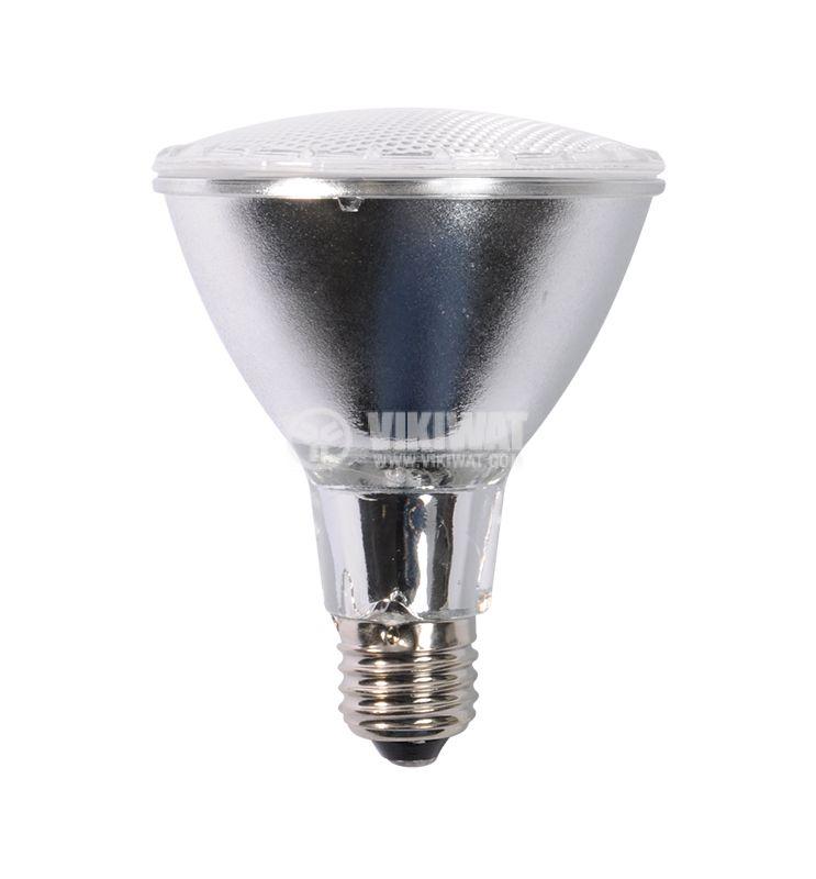 Халогенна лампа PAR30, E27, 230 V, 75 W, бяла - 2