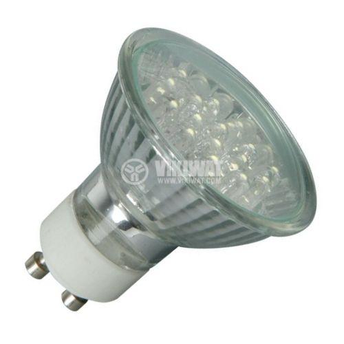 LED лампа, GU10, 1W - 1