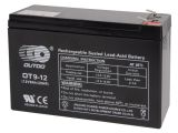 Sealed Lead-acid Battery 12V 9Ah OT9-12 with gel