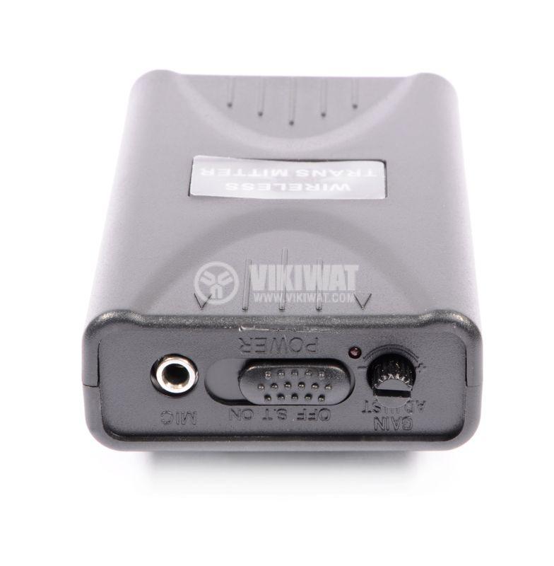 """Микрофон PV-200L, тип """"брошка"""", безжичен, 9V, 90dB, 200mA - 4"""