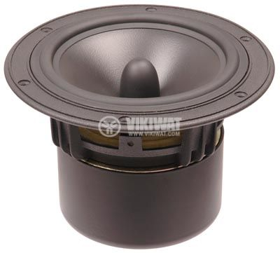 "Low frequency car speacker W5, 8Ohm, 35W, 6"" - 1"