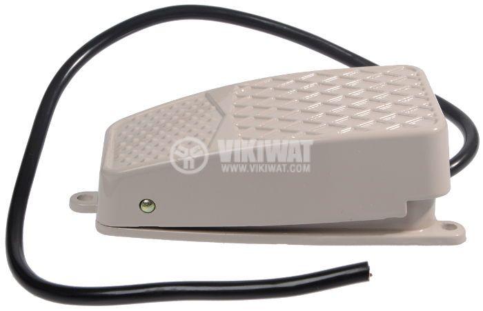Крачен превключвател, FS-2, SPDT-NO+NC, 10 A/250 VAC - 2