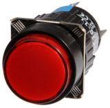 Бутон светещ тип RAFI LAZ16-11 24VAC/DC SPDT - NO+NC червен - 2