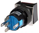Бутон светещ тип RAFI LA139S-11FDT 24VAC/DC SPDT - NO+NC червен - 3