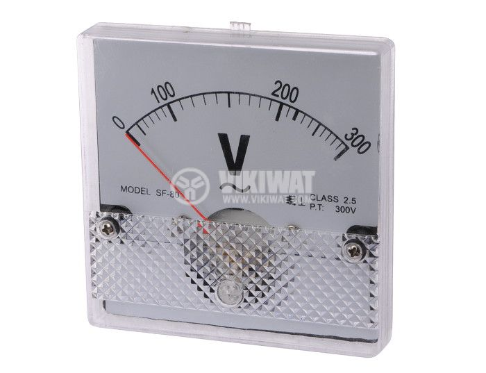 Волтметър, 300 VAC, SF-80, директен - 1