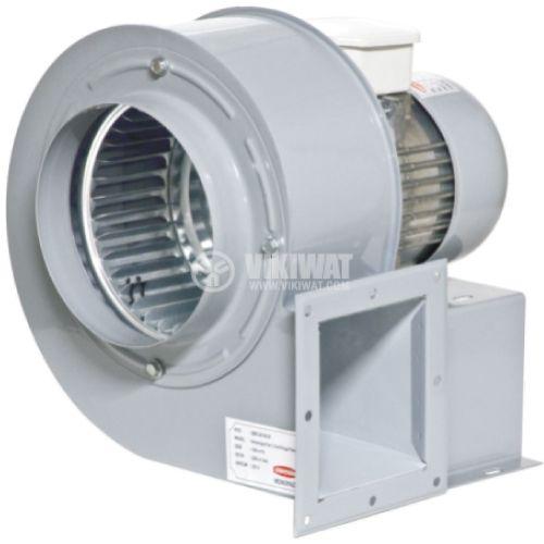 """Вентилатор промишлен OBR 200M-4K 220VAC/185W 850m3/h тип """"охлюв"""" с изнесена турбина с едностранно засмукване - 1"""
