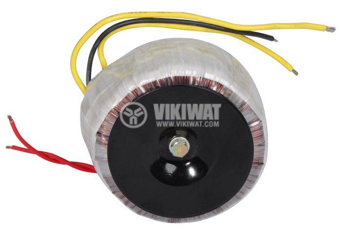 Тороидален трансформатор 230 / 2 x 30 VAC, 500 VA - 3