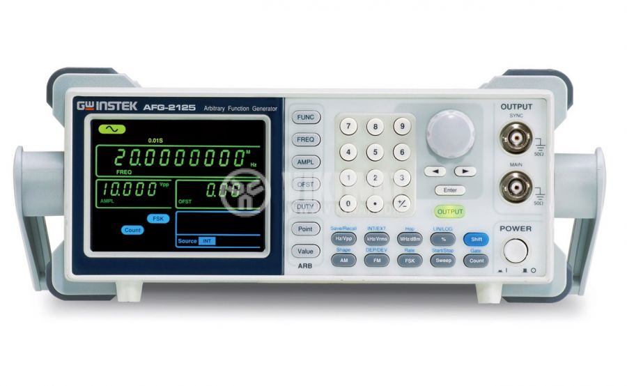 Digital Function Generator AFG-2105, 1 chanel, 0.1 Hz to 25 MHz (sine/square wave) AM/FM/FSK Modulation - 1