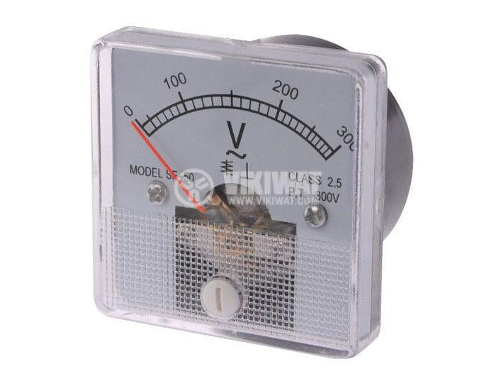 Волтметър, 300 V/AC, SF-50,  директен - 1