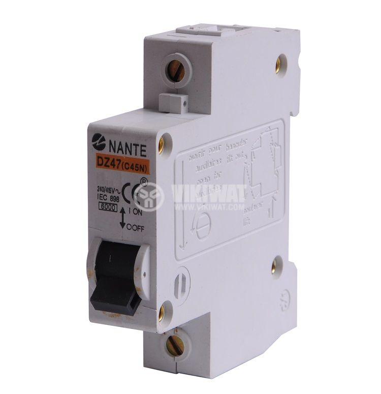 Miniature circuit breaker 1x40A Multi9 NANTE DIN rail curve C - 1