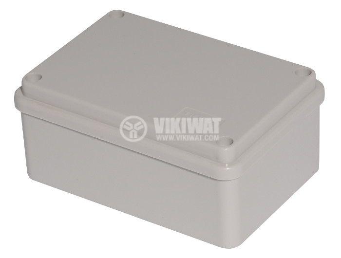 Enclosure box VB-AG-0812. 120x80x50mm, IP66,  grey  - 1