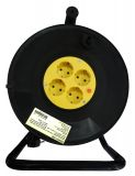 Extension cord reel, 3x1.5mm2, 4 sockets, 30m
