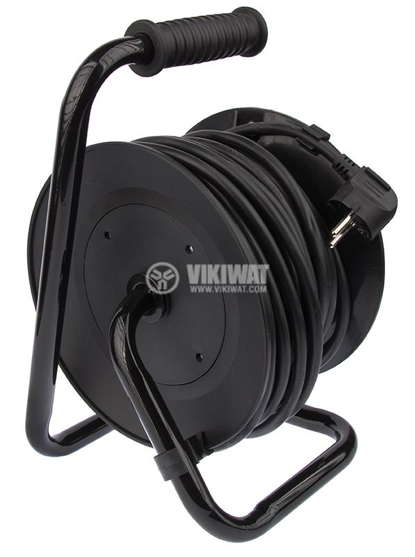 Extension cord reel, 3x1.5mm2, 4 sockets, 20m - 2