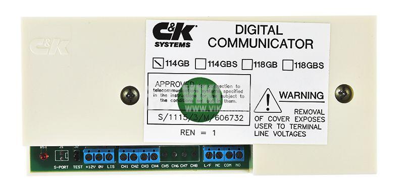 Цифров комуникатор 114GB, ACTIVE 5X, BRAVO 700, с телефонен дайлер - 1