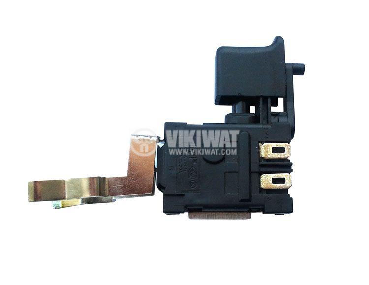 Електрически прекъсвач (ключ), регулатор на обороти с реверсиране за ръчни акумулаторни електроинструменти FA024A-20/1 20A/7.2VDC - 24VDC - 2
