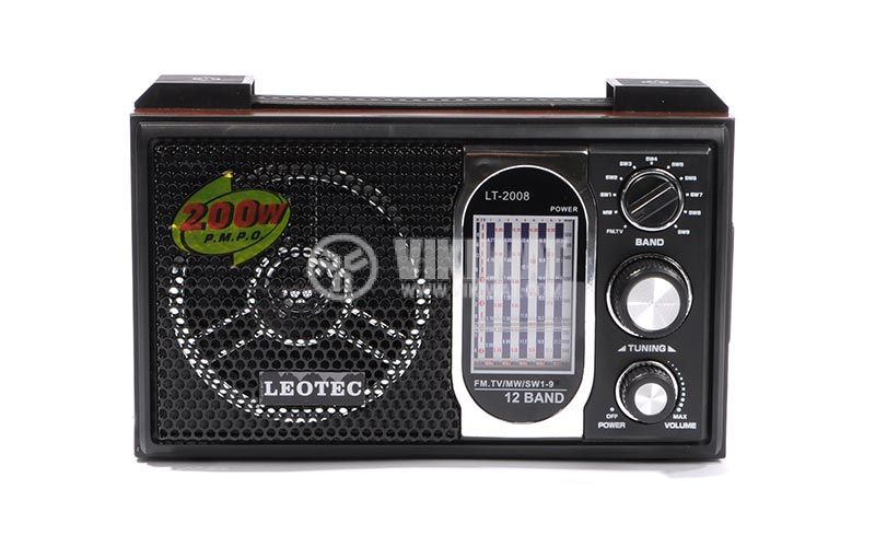 Класическо FM радио LT-2008+SV-10, LEOTEC - 2