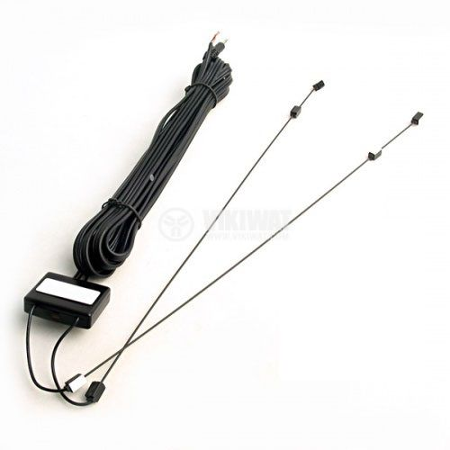 TV антена за кола с усилвател, 3.5 моно жак - 1