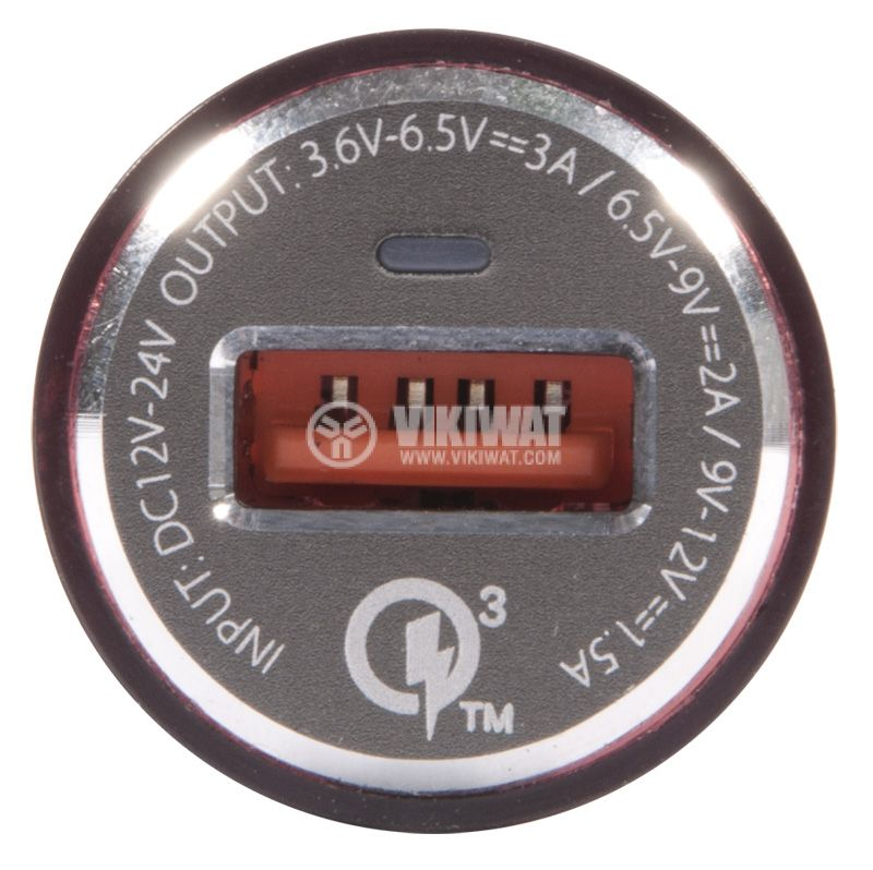 Зарядно устройство за кола, LDNIO C304Q, с Lightning port - 5