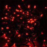 Christmas decoration rope type 4.95m, 3.6W, red, IP44, 100 LED, outdoor installation