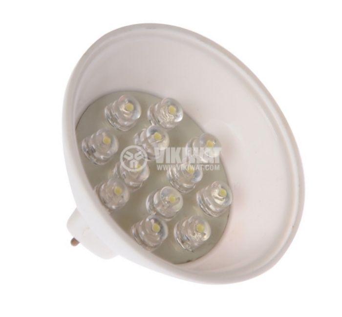 LED лампа GU5.3, 0.7W, 12VAC/DC - 1