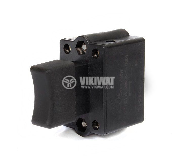 Електрически прекъсвач (ключ) за ръчни електроинструменти FS-A1001/2W 10A/250VAC 2NO - 2