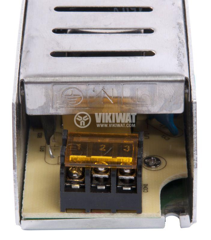 Захранващ блок, BY02-01500, 220VAC-12VDC, 12.5A, 150W, IP20 - 4