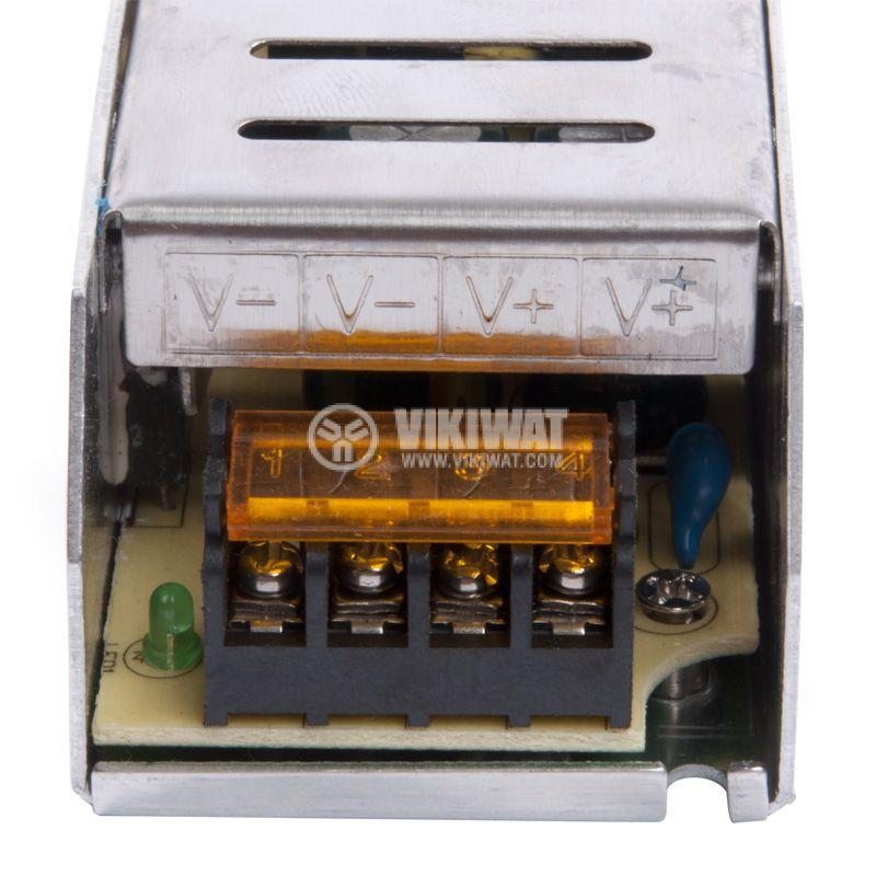 Захранващ блок, BY02-01500, 220VAC-12VDC, 12.5A, 150W, IP20 - 5
