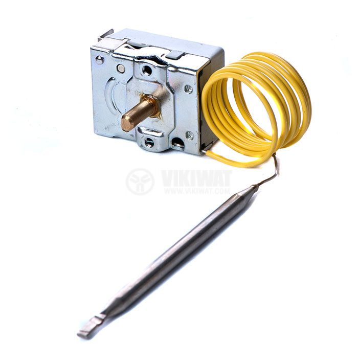 Capillary thermostat,  NT-173, +5 °C to +75 °C, NO+NC, 10 A / 250 VAC - 1