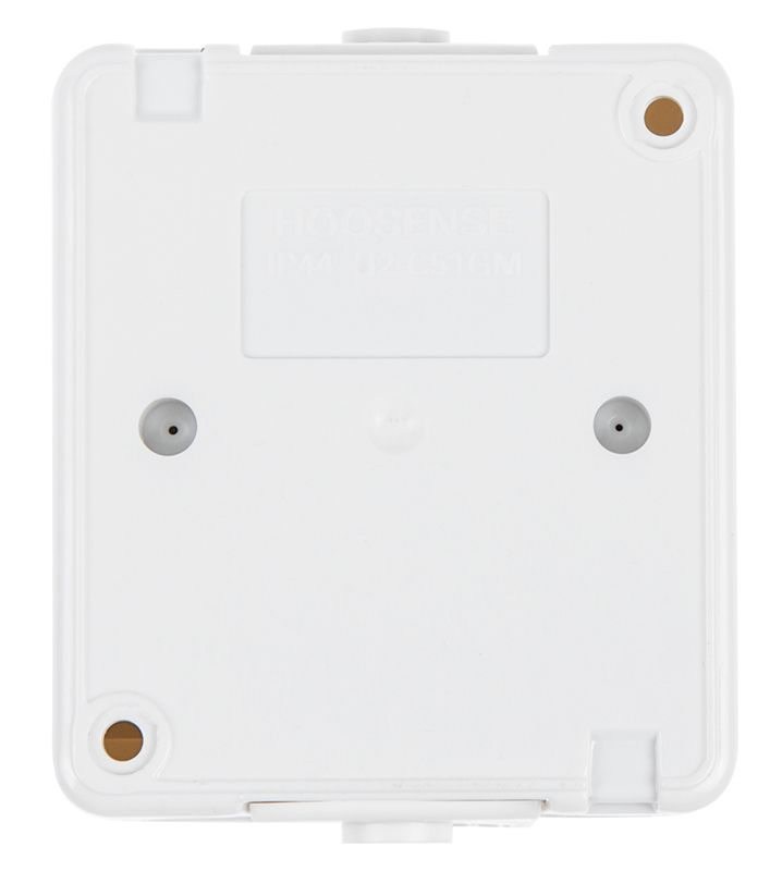 Електрически контакт, LEXA, LK7202, 250VAC, 16A, бял, IP54, влагозащитен, с капак - 4