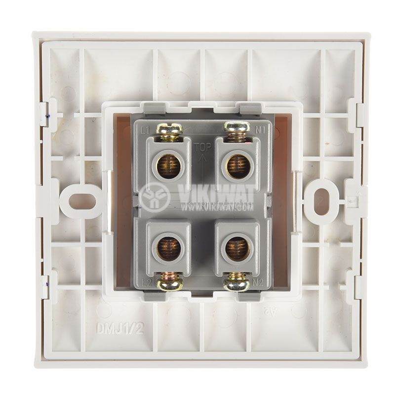 Electric switch for boilers, 32A, 250VAC, built in mounting, with light indication - 3