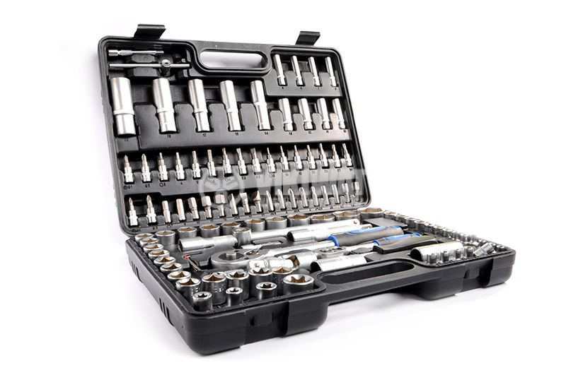 Комплект гедоре инструменти с размер 1/4-1/2, 108 части - 2
