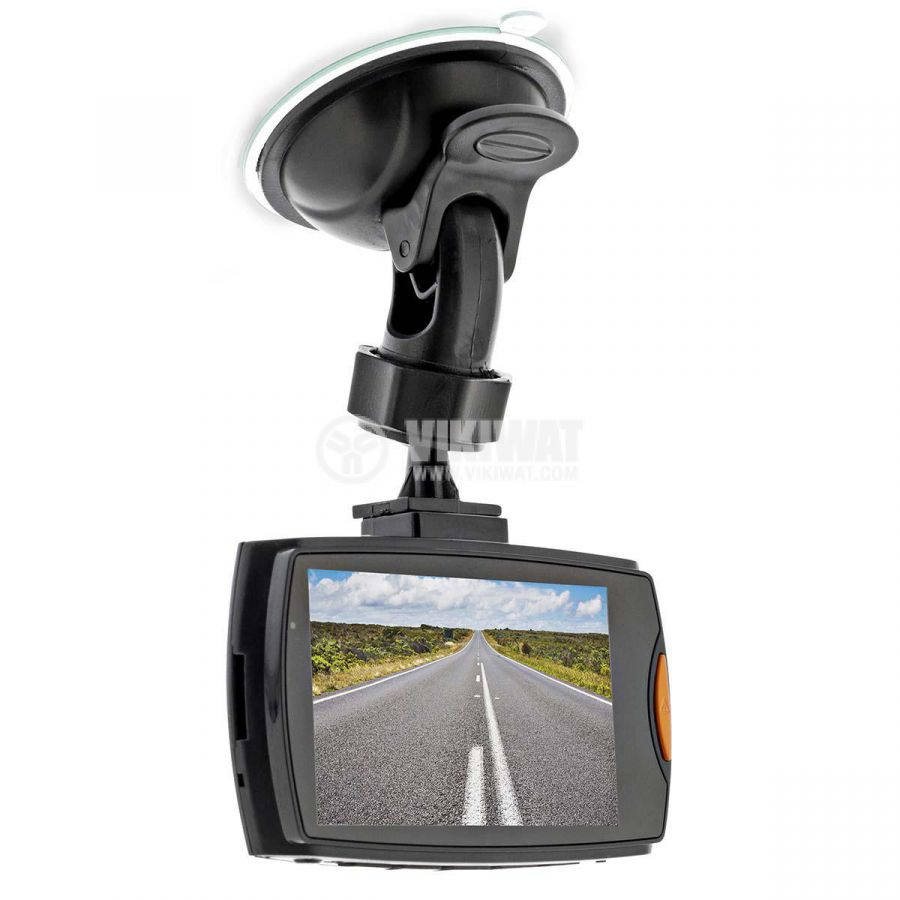 HD portable car video camera with 2.7-inch display, Full HD 1080p, 120°  - 9