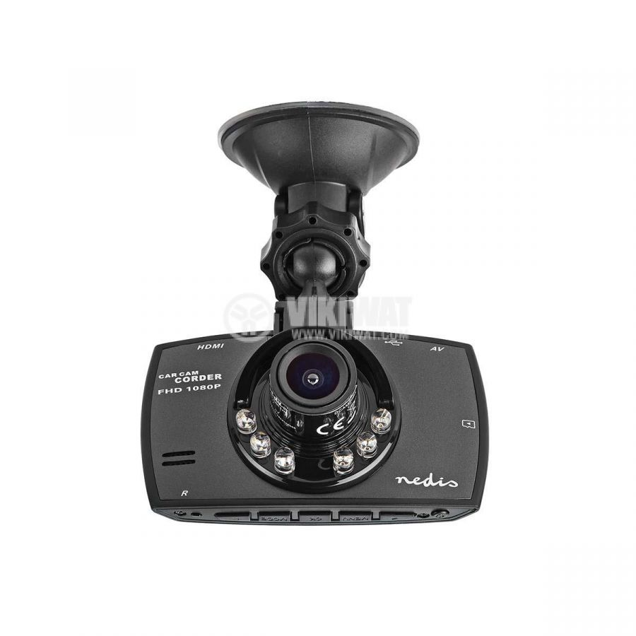 HD portable car video camera with 2.7-inch display, Full HD 1080p, 120°  - 8