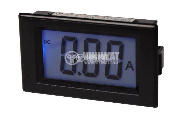 Digital ammeter, 0-5A DC, SFD-69 - 1