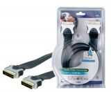HQ Cable,  SCART/m - SCART/m, 1.5 m