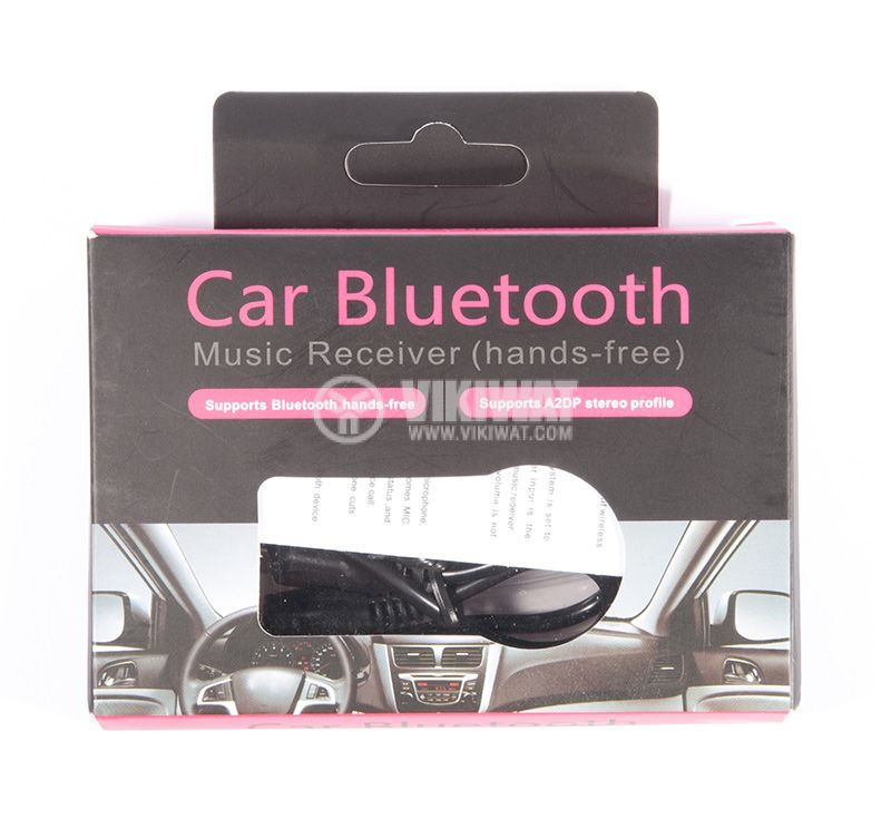 car mini bluetooth receiver 3,5mm jack - 2
