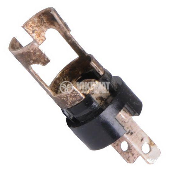 Цокъл BA5S за автомобилни лампи, метален - 1