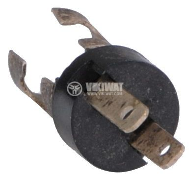 Цокъл BA5S за автомобилни лампи, метален - 2