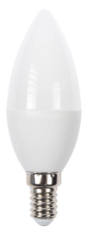 LED лампа 5W, E14, 220VAC, 3000K, топло бяла, тип свещ, BA09-00510 - 3