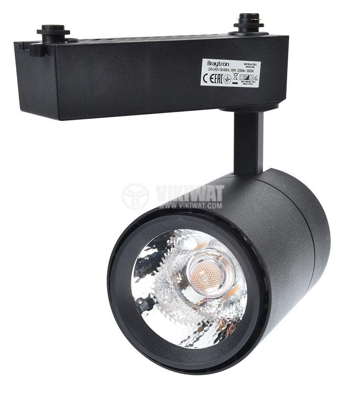 LED track light SHOPLINE-C, 30W, 220-240VAC, 3000K, black, BD30-01301 - 2